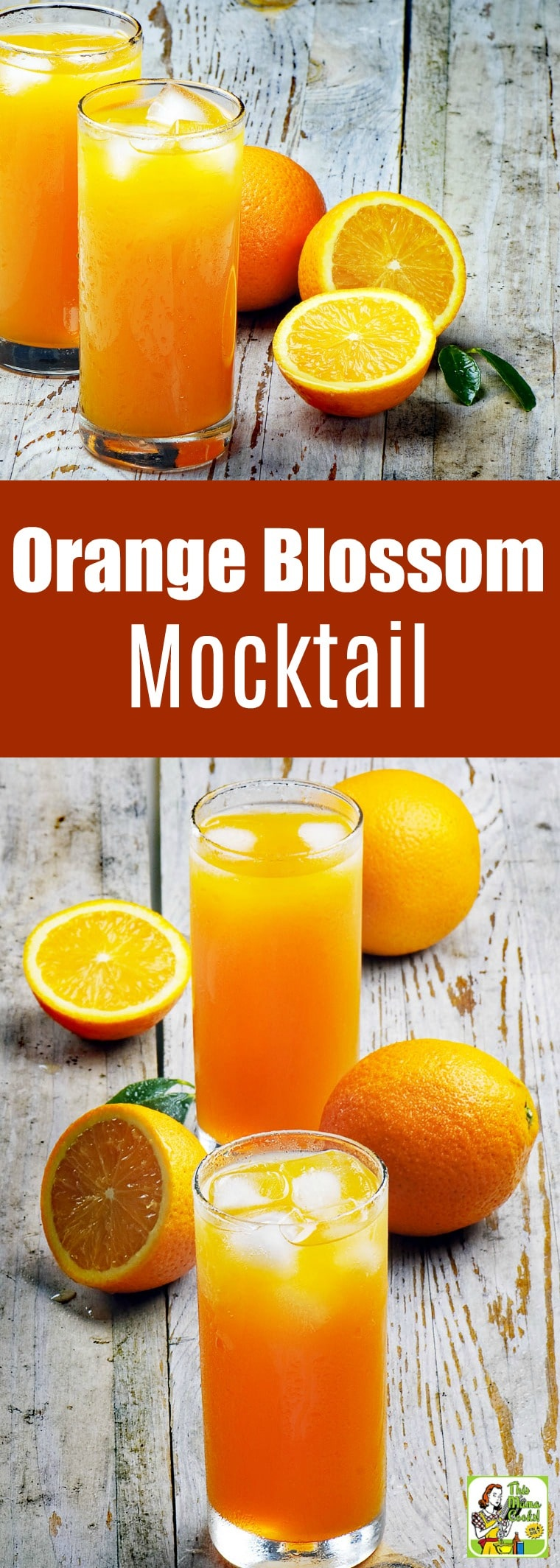 This Orange Blossom Mocktail is a wonderful drink for kids or when you don't want to imbibe. Make a big pitcher of this Orange Blossom Drink for parties. #recipes #easy #recipeoftheday #easyrecipe #easyrecipes #healthydrinks #healthydrinksrecipe #mocktail #nonalcoholic #drinks #drinking #drinkrecipes #kidfriendly