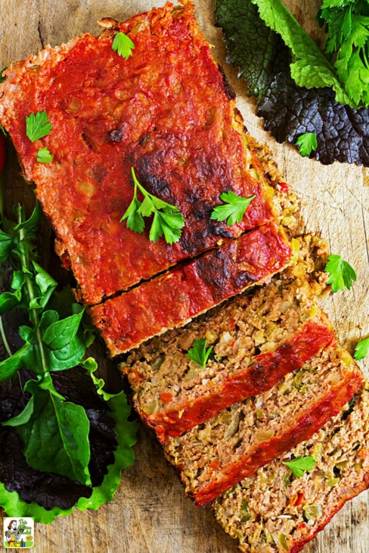 This Smoked Meatloaf recipe is easy to make and gluten free!