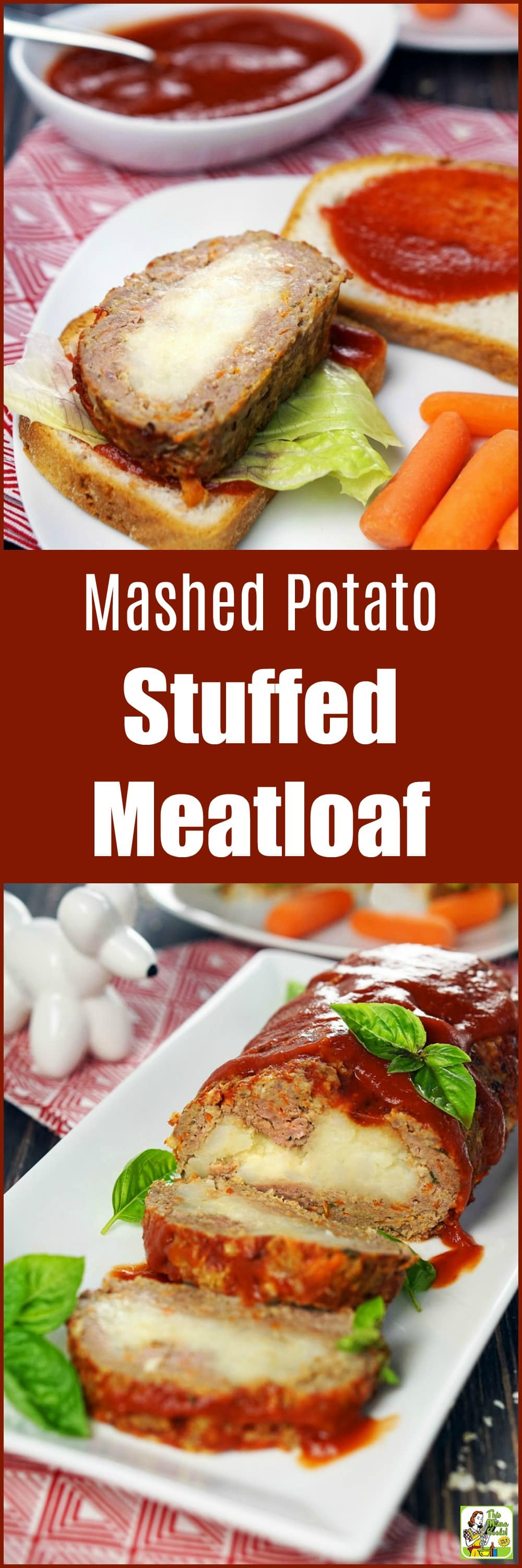 A stuffed meatloaf recipe everyone will love. Learn how to make this easy meatloaf recipe. It\'s so delicious you won\'t believe it\'s a gluten-free meatloaf. #recipes #easy #recipeoftheday #glutenfree #easyrecipe #easyrecipes #glutenfreerecipes #dinner #easydinner #dinnerrecipes #dinnerideas #meatloaf
