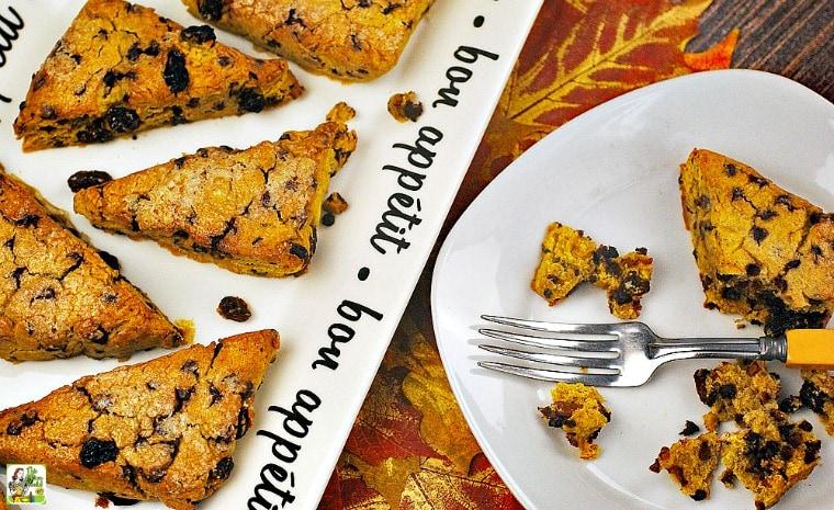 Pumpkin Gluten Free Scones