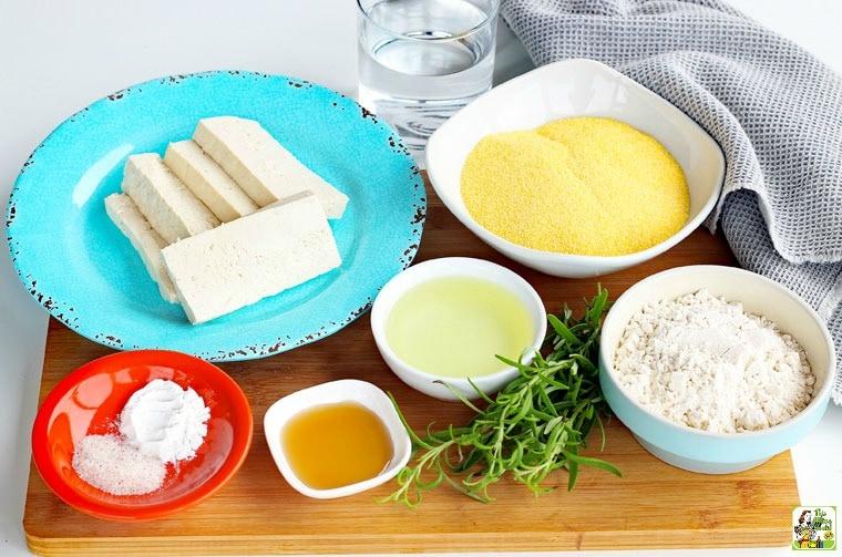 Vegan Cornbread with Rosemary recipe ingredients