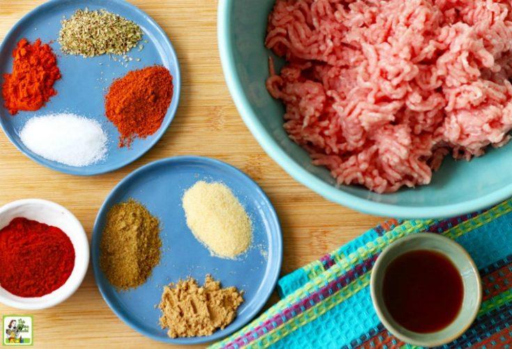 How to make homemade chorizo sausage