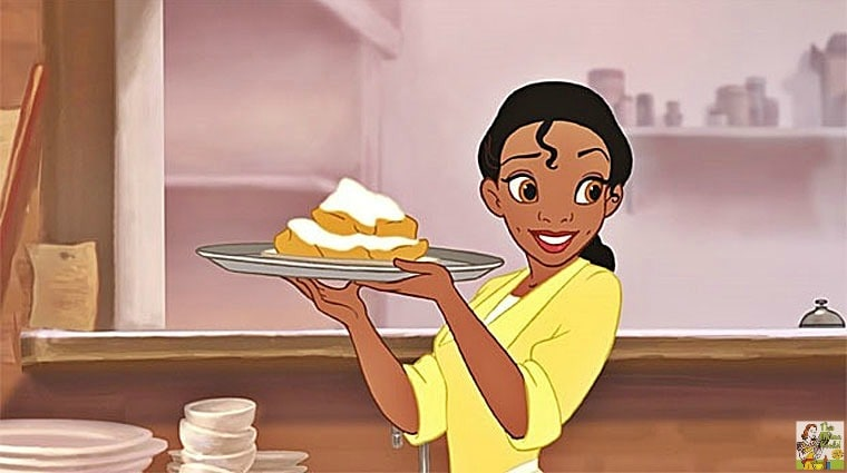 Tiana's Famous Beignets Recipe from Disney's Princess and the Frog