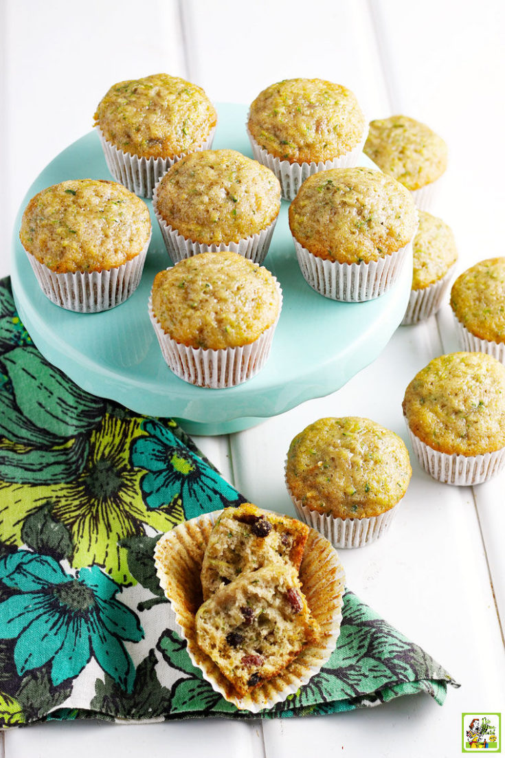 Gluten Free Zucchini Muffins Recipe
