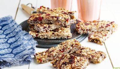Homemade Granola Bars Recipe.