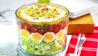Seven Layer Salad.