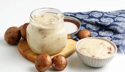 Homemade Cream of Mushroom Soup Recipe.